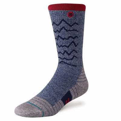 Stance Mens Adventure Thunder Valley Trek Socks - Medium / Navy