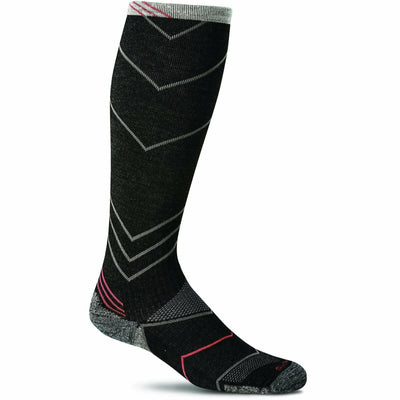 Sockwell Mens Incline Moderate Compression OTC Socks - Medium/Large / Black