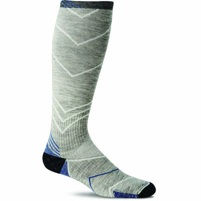 Sockwell Mens Incline Moderate Compression OTC Socks - Medium/Large / Light Gray