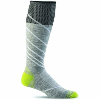 Sockwell Mens Pulse Firm Compression OTC Socks - Medium/Large / Light Gray