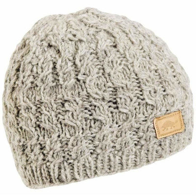 Turtle Fur Mika Wool Beanie - One Size Fits Most / Smoke Heather
