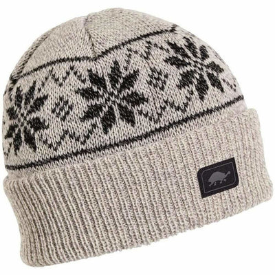 Turtle Fur Mount Snow Ragg Wool Beanie - One Size Fits Most / Beige