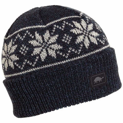 Turtle Fur Mount Snow Ragg Wool Beanie - One Size Fits Most / Blue
