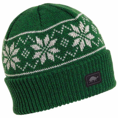 Turtle Fur Mount Snow Ragg Wool Beanie - One Size Fits Most / Forest