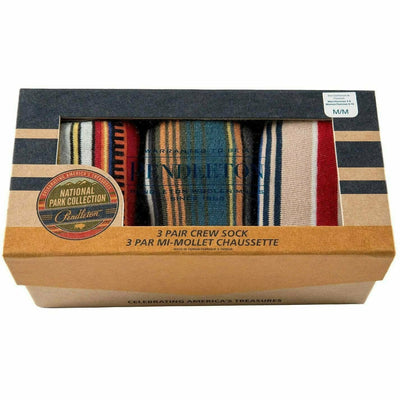 Pendleton National Park Striped Crew Socks
