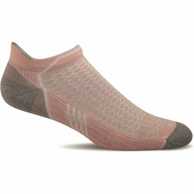 Sockwell Womens Moderate Compression Incline Micro Socks - Small/Medium / Rose