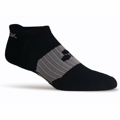 Fitsok RX6 Lightweight No Show Tab Socks - Small / Black