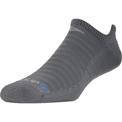 Drymax Running Light-Mesh No Show Tab Socks Small / Dark Gray