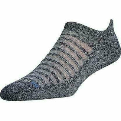 Drymax Running Light-Mesh No Show Tab Socks Small / Navy Heathered