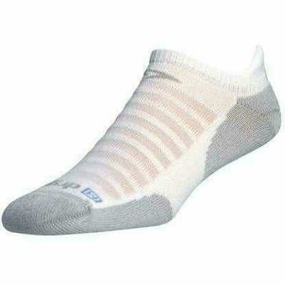 Drymax Running Light-Mesh No Show Tab Socks Small / White