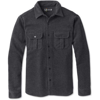 Smartwool Mens Anchor Line Shirt Jacket - Small / Charcoal Heather