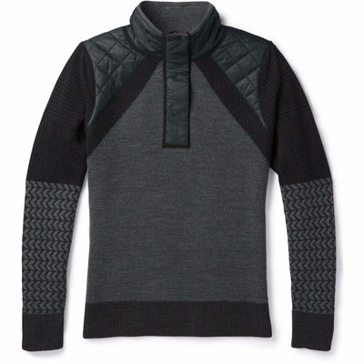 Smartwool Womens Ski Ninja Pullover Sweater - Small / Black