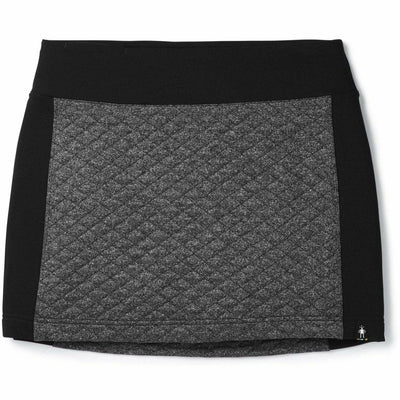 Smartwool Womens Diamond Peak Quilted Skirt - X-Small / Black Heather