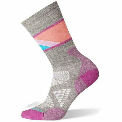 Smartwool Womens PhD Pro Approach Crew Socks - Medium / Meadow Mauve