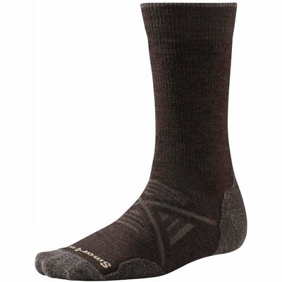 Smartwool PhD Outdoor Medium Crew Socks Medium / Chestnut