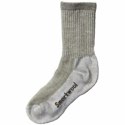 Smartwool Kids Hike Medium Crew Socks - Small / Taupe