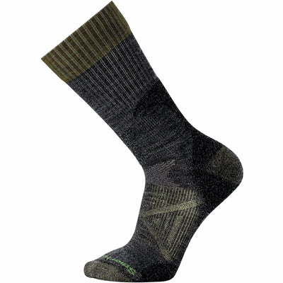 Smartwool PhD Hunt Light Crew Socks - Medium / Black