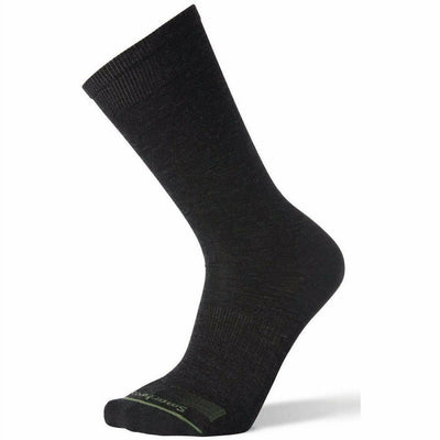 Smartwool Mens Anchor Line Crew Socks - Medium / Charcoal