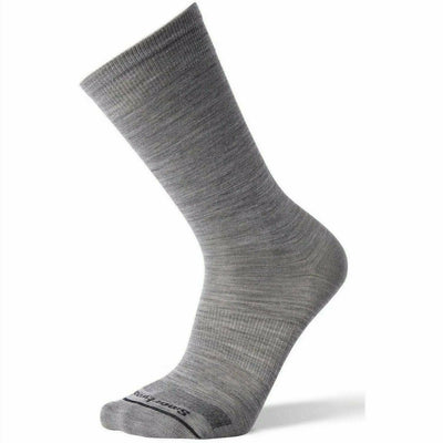 Smartwool Mens Anchor Line Crew Socks - Medium / Light Gray