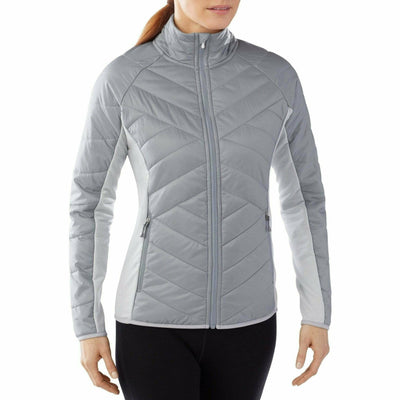 Smartwool Womens Double Corbet 120 Jacket Large / Silver