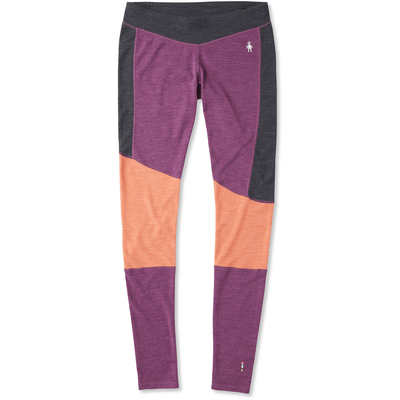 Smartwool Womens Merino 250 Asym Bottom - X-Small / Sangria Heather
