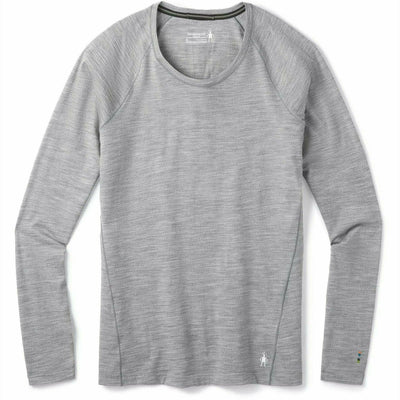 Smartwool Womens Merino 150 Baselayer Long Sleeve - X-Large / Light Gray Heather