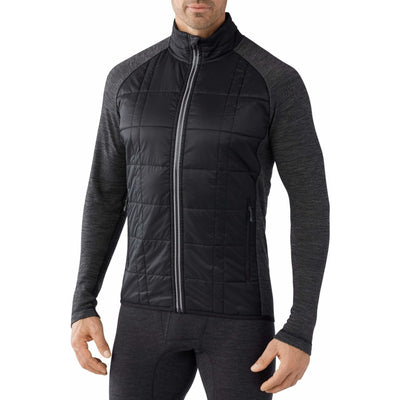 Smartwool Mens Double Propulsion 60 Jacket Small / Graphite/Black