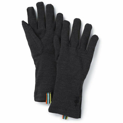 Smartwool Merino 250 Gloves - X-Small / Charcoal Heather