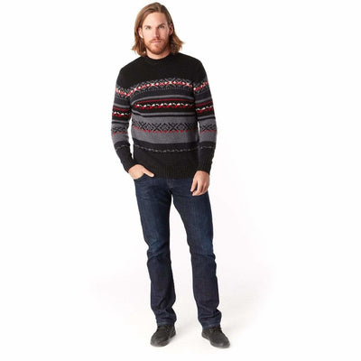Smartwool Mens CHUP Kaamos Sweater - Medium / Charcoal Heather