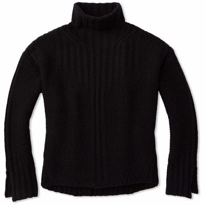 Smartwool Womens Spruce Creek Sweater - Small / Black