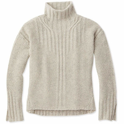 Smartwool Womens Spruce Creek Sweater - Medium / Ash Heather