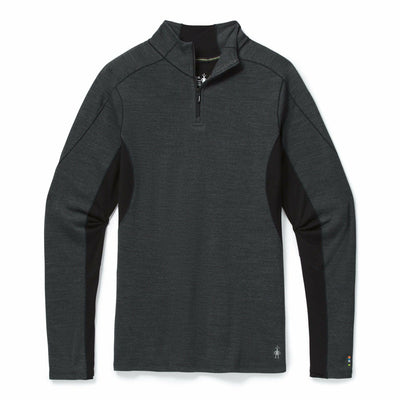 Smartwool Womens Merino Sport 250 Long Sleeve 1/4 Zip - X-Small / Charcoal Heather