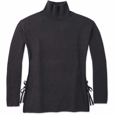 Smartwool Womens Spruce Creek Tunic Sweater - Small / Charcoal Heather