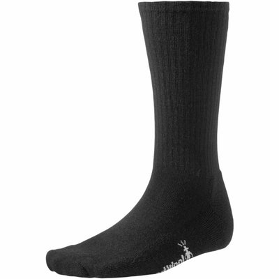 Smartwool Mens Heathered Rib Socks Medium / Black