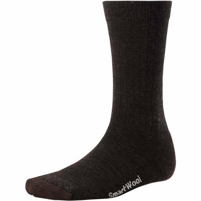 Smartwool Mens Heathered Rib Socks Medium / Chestnut