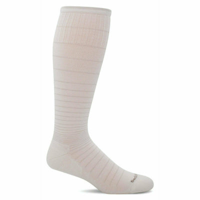 Sockwell Womens Circulator Moderate Compression Knee High Socks Small/Medium / Natural Sparkle