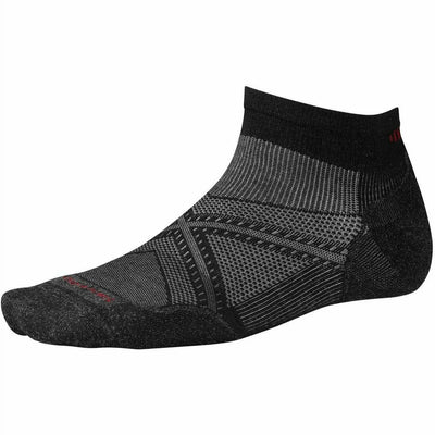Smartwool PhD Run Light Elite Low Cut Socks Medium / Black