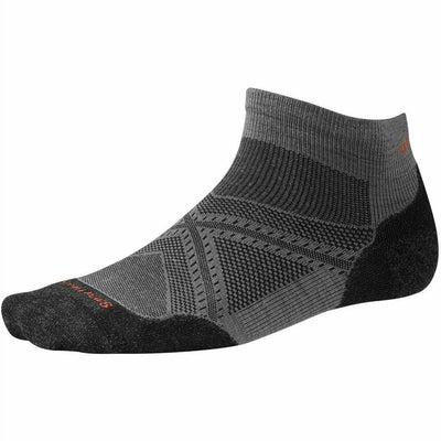 Smartwool PhD Run Light Elite Low Cut Socks Medium / Graphite