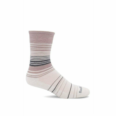 Sockwell Womens Easy Does It Relaxed Fit Crew Socks -