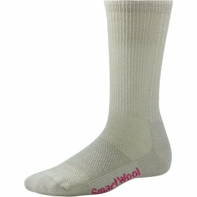 Smartwool Womens Hike Ultra Light Crew Socks - Small / Oatmeal