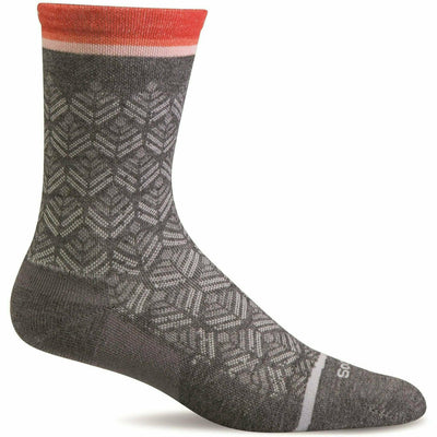 Sockwell Womens Bunion Relief Crew Socks Small/Medium / Charcoal