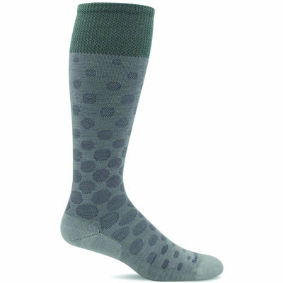 Sockwell Womens Spot On Moderate Compression Knee High Socks Small/Medium / Natural