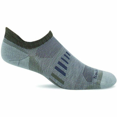 Sockwell Mens Ascend II Moderate Compression Micro Socks Medium/Large / Natural
