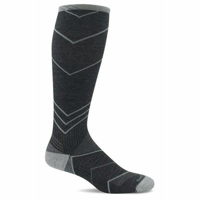 Sockwell Mens Incline Moderate Compression OTC Socks - Medium/Large / Charcoal