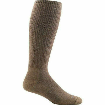 Darn Tough Tactical OTC Extra Cushion Socks X-Small / Coyote Brown