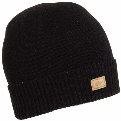 Turtle Fur Thatcher Knit Beanie - One Size Fits Most / Black