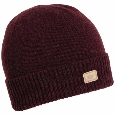 Turtle Fur Thatcher Knit Beanie - One Size Fits Most / Burgundy