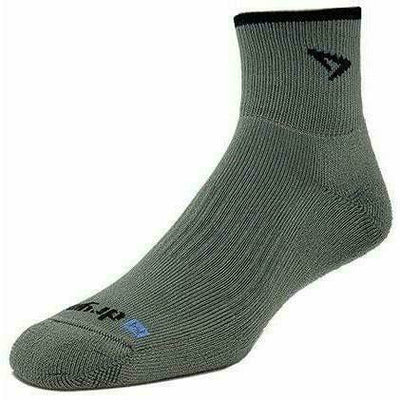 Drymax Trail Running 1/4 Crew/Turndown Socks - Small / Foliage Green