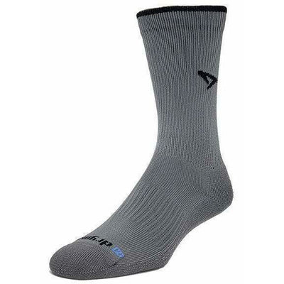 Drymax Trail Running Crew Socks Small / Dark Gray/Black