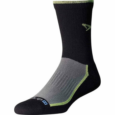 Drymax Trail Running Crew Socks - Small / Lime/Black